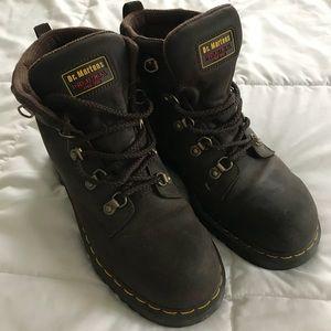 Dr. Martens steel toe industrial boot